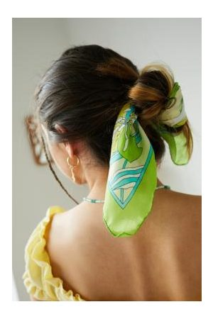 Urban Vintage - Mittellanger Schal im Vintage-Look in