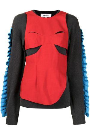 Enföld Sweatshirt im Layering-Look