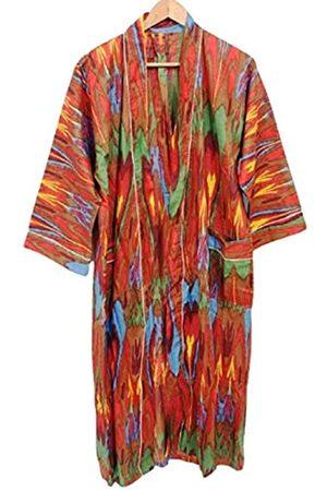Generic Nivisaa Attractive Cotton Kimono Modern Print Night Beach Wear Robe Sleepwear
