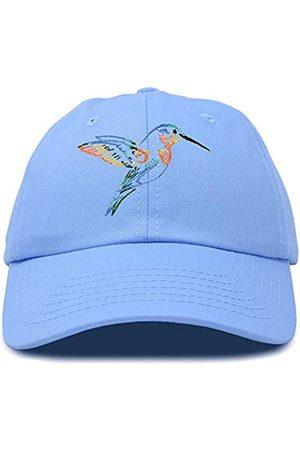 DALIX Kolibri Mütze Baseball Cap Mutter Natur Wildlife Vogelbeobachter Geschenk - Blau - Einheitsgröße