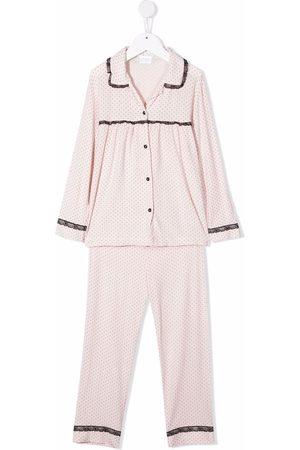 La Perla Kids Two-piece pyjama set