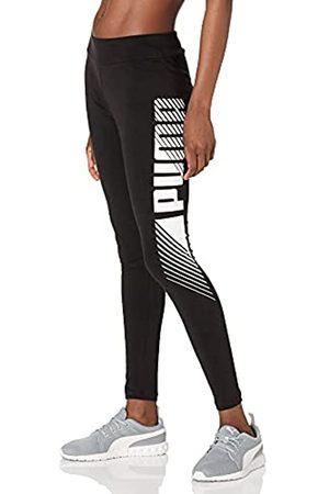 PUMA Damen Essentials Graphic Leggings, Black