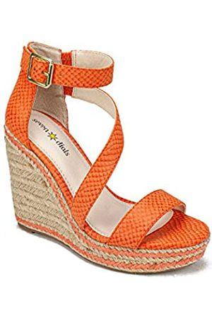 Seven Dials Damen Keilabsatz-Sandale