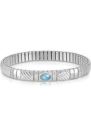 Nomination Damen-Armband Edelstahl weiß Zirkonia 21 cm - 043332/006