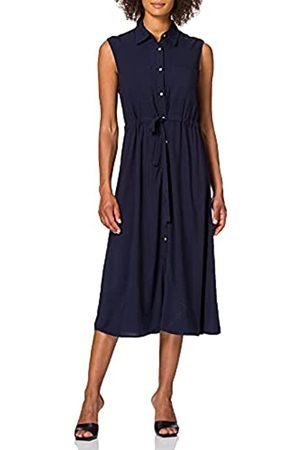 YAS Damen KAKIRA SL MIDI Dress Kleid
