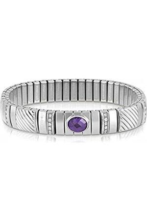 Nomination Damen-Armband Edelstahl weiß Zirkonia 21 cm - 043334/001