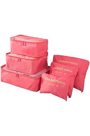 FiveRen Reisetaschen - Packwürfel – 6 Stück Reisegepäck-Organizer Taschen für Rucksack