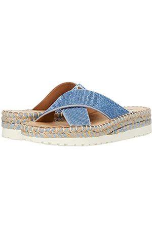 White Mountain Shoes Kimberly Damen Sandale, Blau (hellblau)