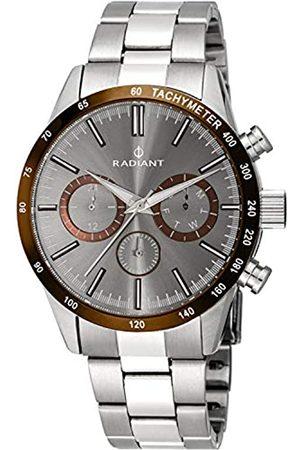 Radiant Herren Analog Quarz Uhr mit Edelstahl Armband RA411203
