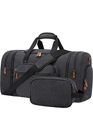 Sucipi Seesack für Herren Reisetasche Wasserdicht Übernachtung Wochenendtasche Große Canvas Handgepäcktasche mit Schuhfach und Kulturbeutel für Reisen