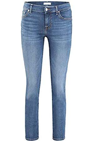7 for all Mankind Damen Rise Roxanne Crop Slim Jeans