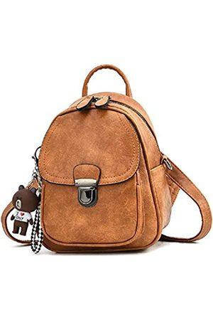 zhongningyifeng Rucksack für Frauen Klein Mini Leder Reise Rucksack Geldbörse Schultertasche Süß für Mädchen