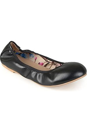 Journee Collection Flexible Scrunch Damen Ballerinas