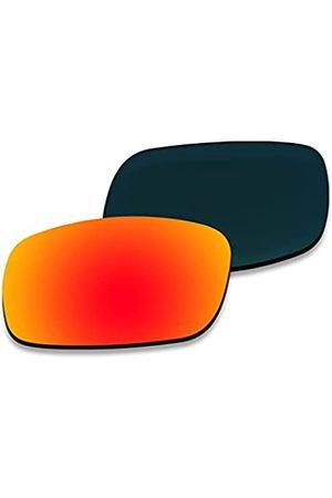 AHABAC Ersatzgläser für Oakley Canteen 2014 OO9225 Rahmenvarianten – polarisiert & entspiegelt & wasserabweisend
