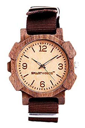 SmartWoods Unisex Erwachsene Analog Quarz Uhr mit Nylon Armband 5902706213805