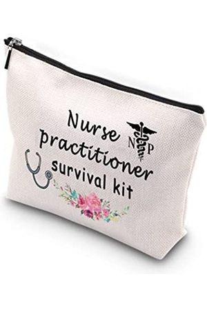 Generic WCGXKO Krankenschwester-Überlebensset mit Reißverschluss, Make-up-Tasche