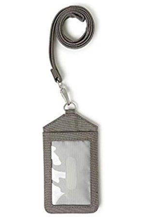 Baggallini Unisex-Erwachsene (Nur Gepäckträger) Ausweis-Umhängeband (Grau) - LAY491