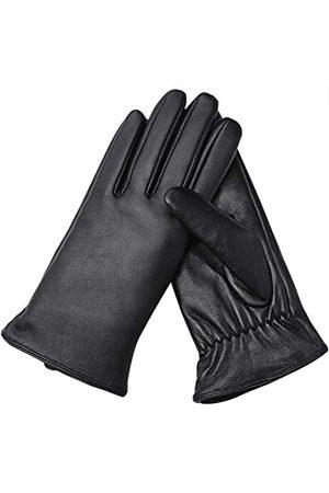 AMVELOP Damen Lederhandschuhe, für Touchscreen/Text