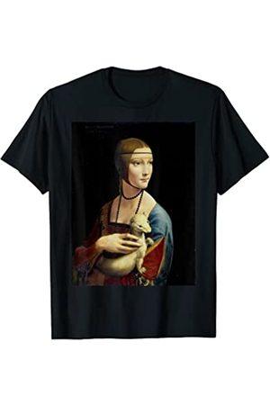 Vintage Images Leonardo da Vincis Die Dame mit dem Hermelin T-Shirt