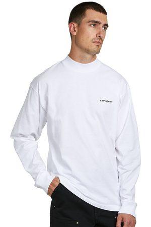 Carhartt L/S Mockneck Script Embroidery T-Shirt