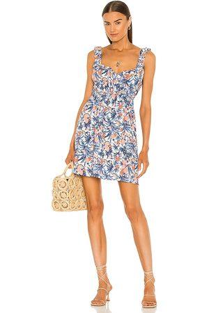 Line & Dot Sunday Tropical Mini Dress in . Size S, XS, M.
