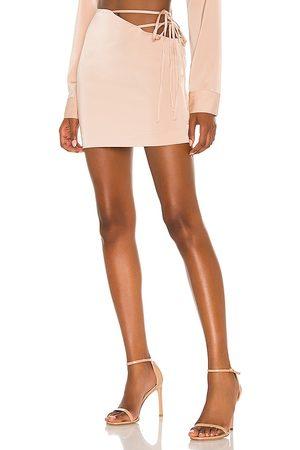 NBD Mirrorball Mini Skirt in . Size XXS, XS, S, M, XL.