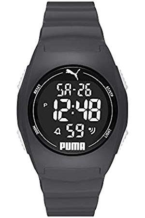 PUMA Herren 4 Digital, Plastic Uhr