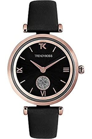 Trendy Kiss Damen Analog Quarz Uhr mit Leder Armband TRG10139-02