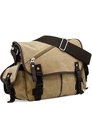 Oct17 Herren Kuriertasche Schule Schulter Canvas Vintage Crossbody Military Satchel Bag Laptop
