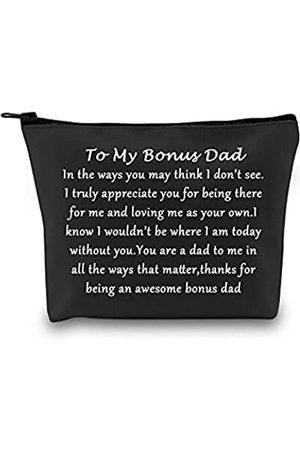 """POFULL Reisetasche mit Reißverschluss von Tochter und Sohn """"To My Bonus Dad"""" für das gewisse Etwas"""