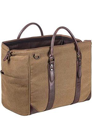 seyfocnia Übergroße Reisetasche aus Leder, wasserdicht, für Wochenendausflüge, Reisetasche