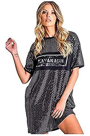 Gianni Kavanagh Damen Black Mirror Blood Tee Dress Lässiges Kleid