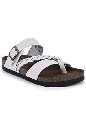 White Mountain Damen Hazy Flache Sandale