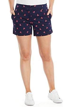 Nautica Damen Comfort Tailored Stretch Cotton Solid and Novelty Lssige Shorts