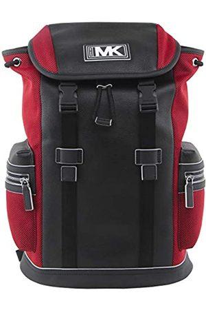 Michael Kors MICHAEL Men's Cooper Leather and Mesh Pocket Backpack In