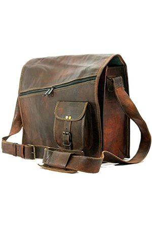 Krishna Leather Handgefertigt Craft Krishna Leder Herren Umhängetasche Vintage Leder Messenger Bag Umhängetasche Laptop-Tasche