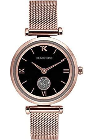 Trendy Kiss Damen Analog Quarz Uhr mit Edelstahl Armband TMRG10139-02