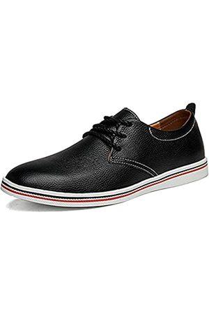 mitvr Herren Echtleder Loafer Casual Sommer Schuhe Mode Fahren Kleid Schuhe