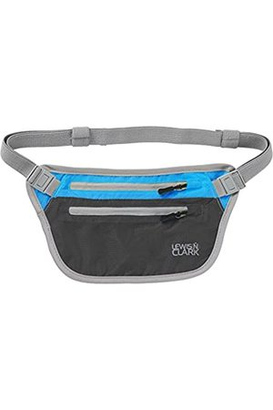 Lewis N. Clark Lewis N Clark Electro Taille Stash, Charcoal/Bright Blue