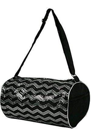 Princess Duffle Bag Chevron Pailletten-Tasche