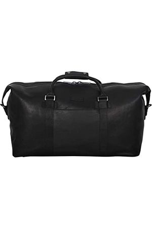 """Kenneth Cole I Beg to Duff-er' Full-Grain Colombian Leather Top Zip 20"""" Carry-On Duffel Travel Bag"""