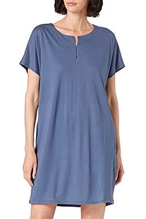 HUBER Damen Sleepshirt Kurzarm Nachthemd