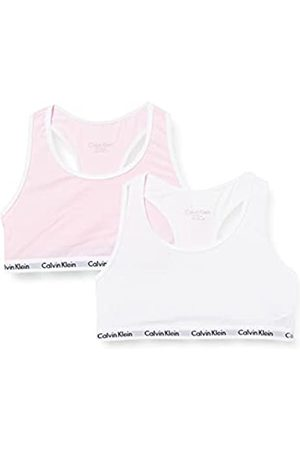 Calvin Klein Mädchen 2PK Bralette Unterwäsche