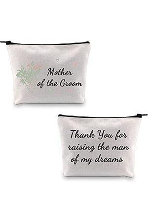 """MBMSO Make-up-Tasche mit Aufschrift """"Thank You for Raising the Man of My Dreams"""", für Schwiegermutter"""