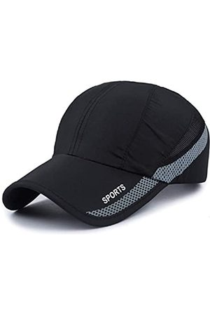 WeiMi Baseball Cap Quick Dry Cap Leichte Laufmützen Outdoor Luftig Verstellbar Sport Sonnenhut UV Schutz Hut für Männer Frauen - - large