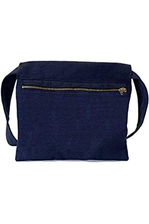 KIKS Design Co Zippy Gürteltasche mit Reißverschluss, zum Binden an der Taille, als Umhängetasche, Handyhalter, Gürteltasche, Reisen, Unisex, Blau (marineblau)