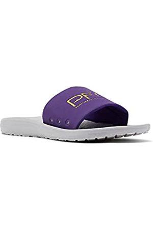 Columbia Herren Yachtrocker PFG Slide Sport Sandale, (Hyper Purple/Deep Yellow)