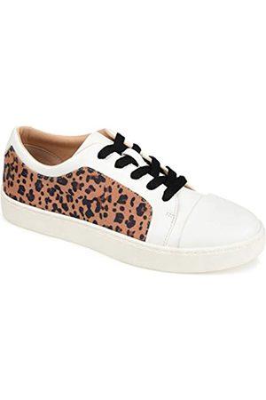 Journee Collection Lässige und modische Damen-Sneakers., (leopard)