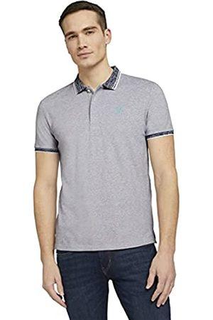 TOM TAILOR Herren 1024931 Basic Poloshirt, 10332-Off White