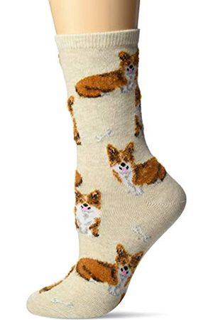 Hot Sox Damen Corgi Socken - grau
